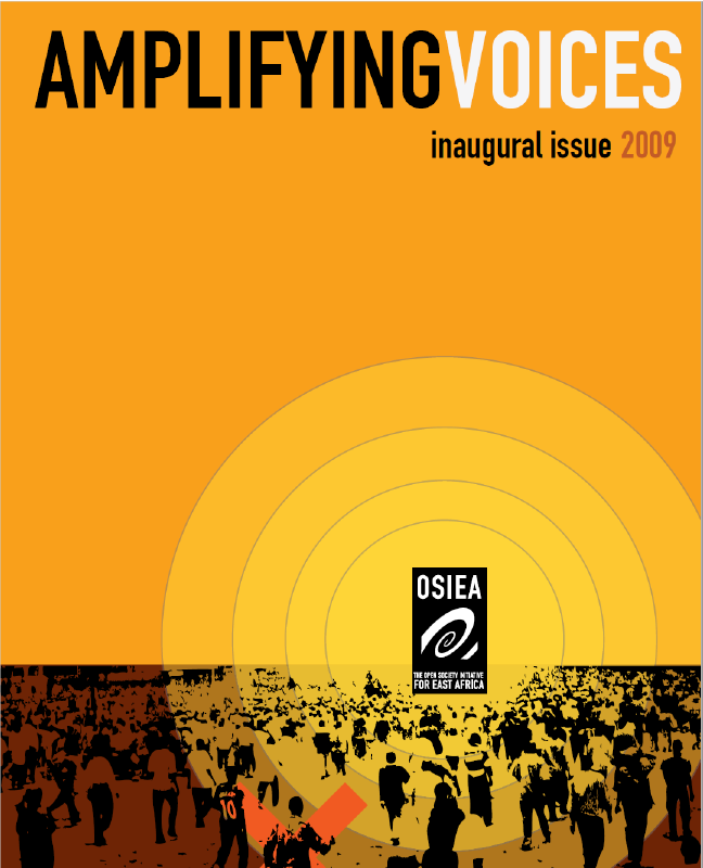 Inaugural Issue