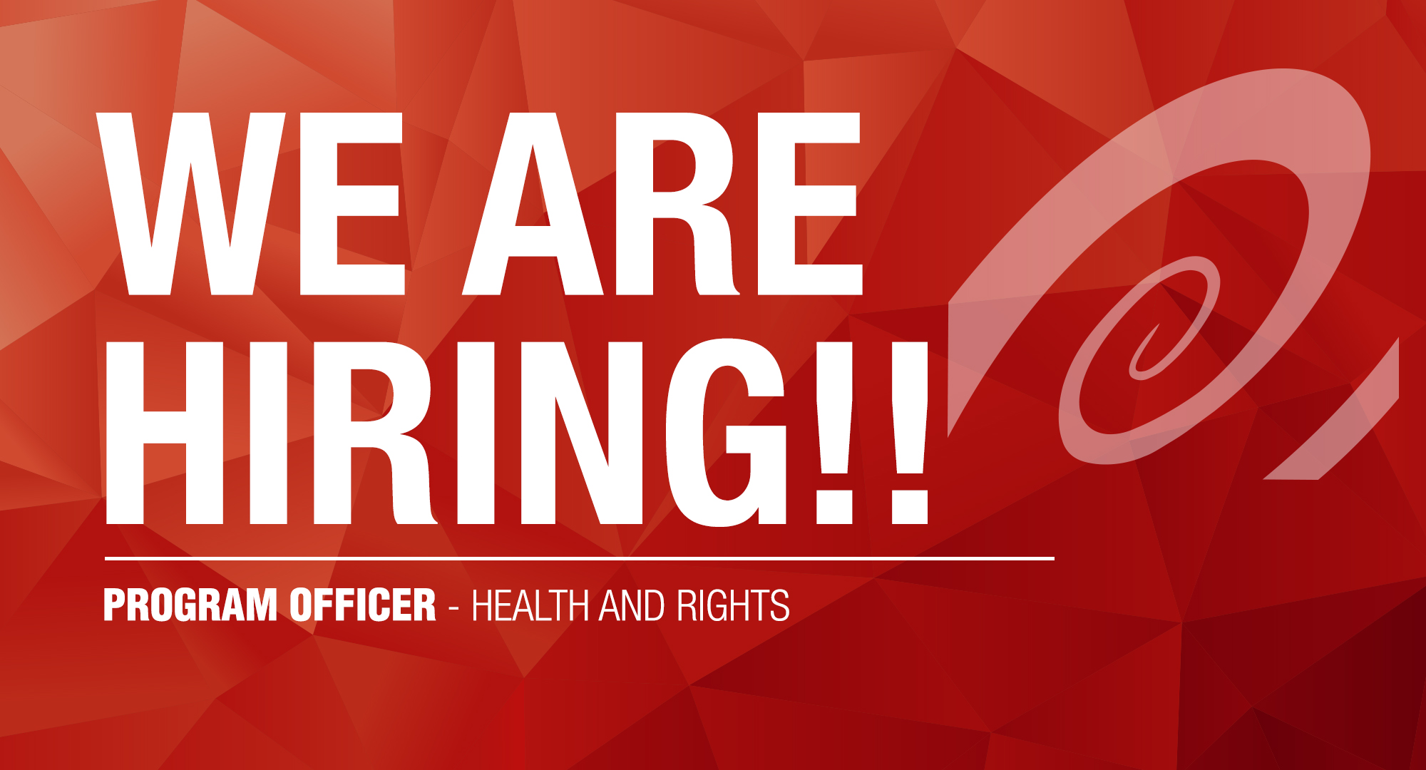 Program Officer Health And Rights